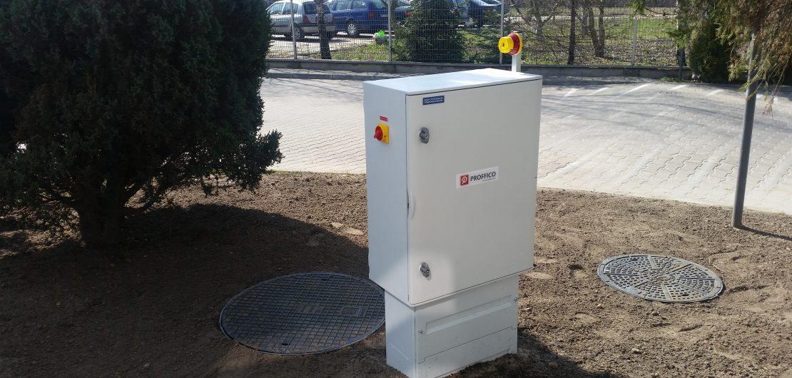 2017 marzec – Modernizacja kanalizacji sanitarnej na nieruchomości Cyfrowego Polsatu S.A.