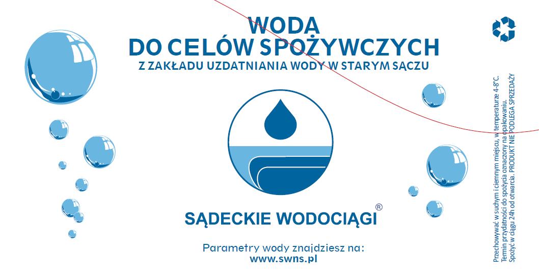 2019 grudzień – Paczkowanie wody dla Nowego Sącza