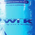 Październik 2016 r. – pakowanie wody dla Wyszkowa
