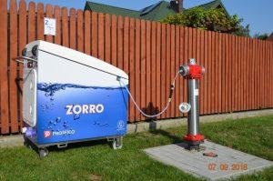 2018 grudzień – Mobilne chloratory Zorro w MPWiK w Warszawie