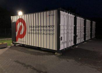 kontenerowa stacja uzdatniania wody Proffico