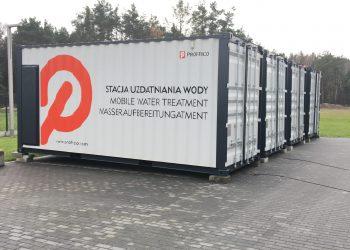 kontenerowa stacja uzdatniania wody
