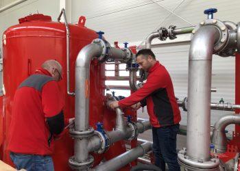 serwis i naprawa stacji uzdatniania wody